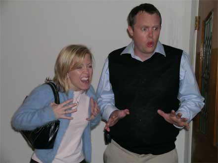 Stephanie Little and Trevor Boelter